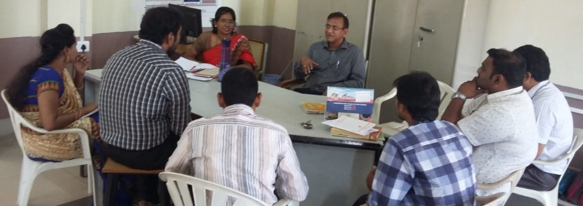 Discussion with Faculty on Innovative Labs for Physics & Chemistry
